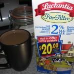 20$ en coupon rabais avec le lait Lactantia