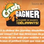 Concours Palmarès de Souhait Crush et Musique plus !