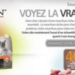 Échantillon gratuit de nourriture pour chat Purina Pro Plan