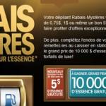 CONCOURS RABAIS-MYSTÈRES ULTRAMAR (coupon rabais sur l'essence)