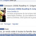 Concours Facebook H.Grégoire – 1000$ d'essence à gagner
