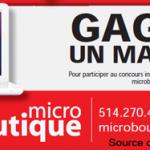 Concours Macbook à Gagner – Micro Boutique