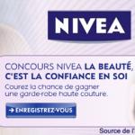 Concours Nivea – La beauté, c'est la confiance en soi