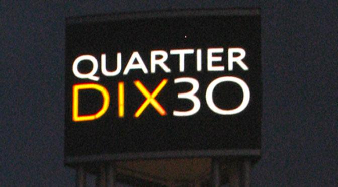 Stationnement gratuit Quatier Dix30