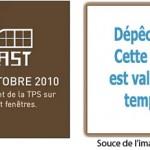 Fenêtres Fenplast – Promotion PAS de TPS