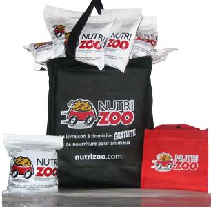 NutriZoo - Échantillon et sac réutilisable GRATUIT