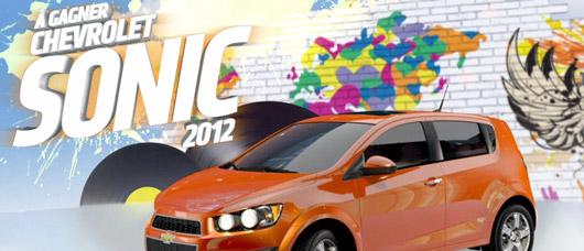 Concours Chevrolet Sonic 2012