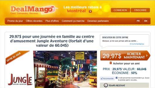DealMango - Achats Groupés