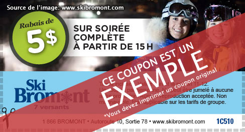 Bromont discount coupons