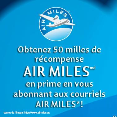 Air Milles gratuits