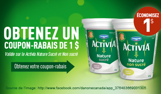 danone coupons rabais