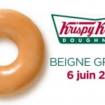 Beigne Krispy Kreme gratuit – 6 juin
