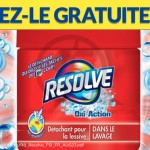 Détachant Resolve Oxi-Action Gratuit