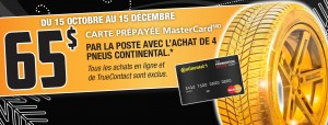 Remise postale continental tire