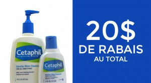 Coupon rabais cetaphil