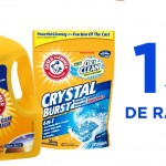 Coupon rabais Détergent Arm & Hammer de 1$