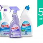 Coupon rabais de 50¢ sur les produits Nettoyant Hertel (500ml – 1L)