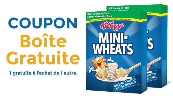 coupon-rabais Mini-Wheats