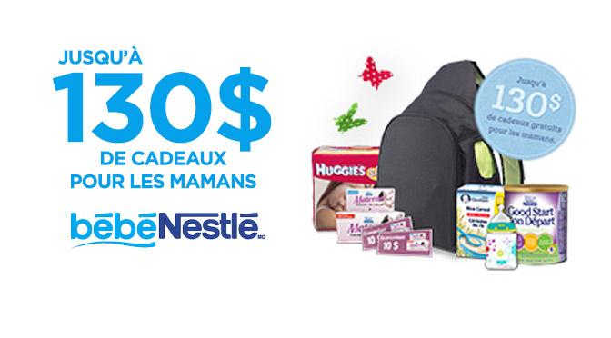 Échantillons gratuit pour maman Nestle