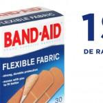 Coupon rabais pansements BAND-AID 1$