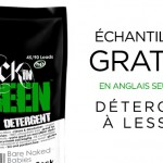 Échantillon gratuit de produits nettoyants Rock in Green