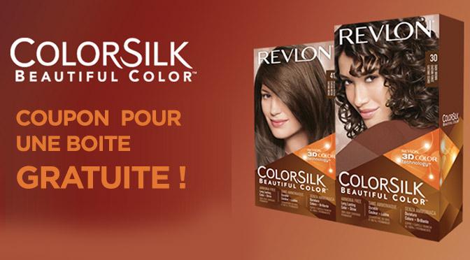 teinture gratuite revlon colorsilk - Coloration Revlon