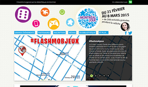200 activités gratuites avec Montréal joue