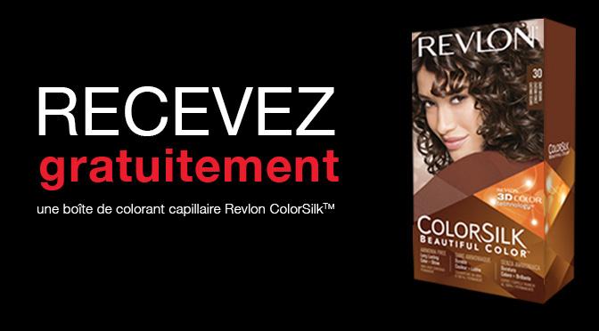 teinture revlon colorsilk gratuite - Revlon Coloration
