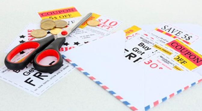 enveloppe de coupon VIP