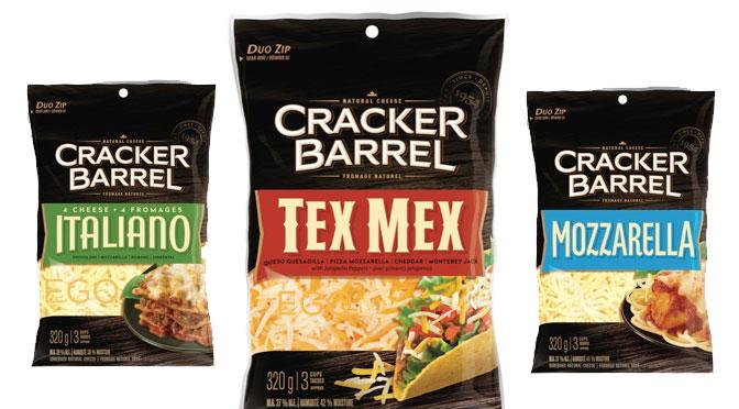 coupon pour le fromage rapé Cracker Barrel