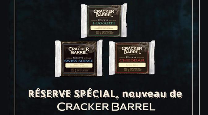 Fromage Cracker Barrel Réserve Spécial