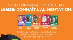 Coupon nouriture pour chat Iams