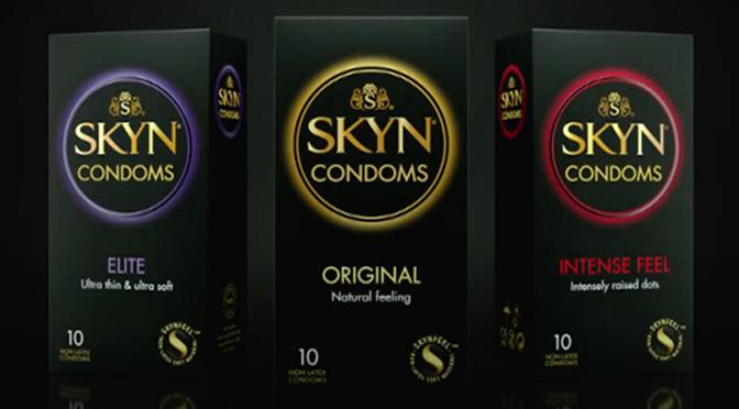 Échantillons gratuits de condom Skyn