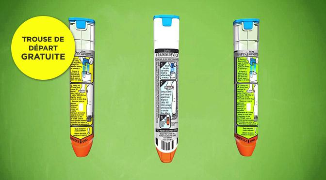 Trousse Epipen gratuite