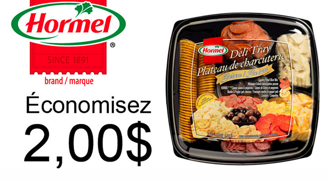 Coupon-rabais Hormel