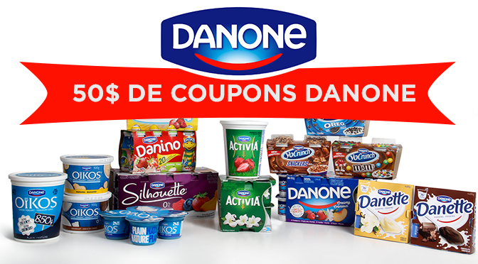 Coupon rabais Danone