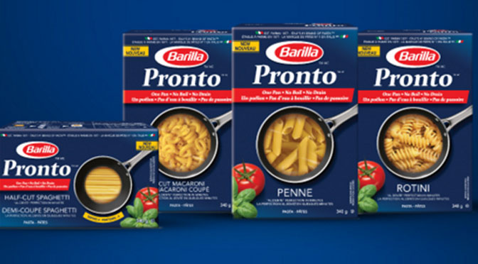 Coupon-rabais Barilla Pronto
