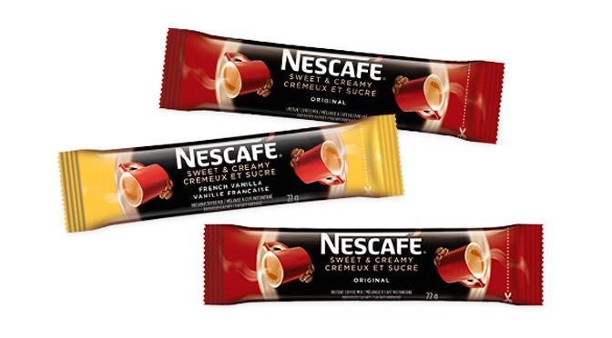 Échantillons gratuits Nescafé