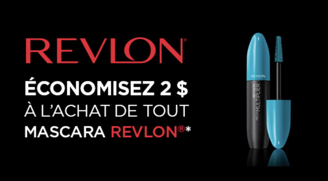 Coupon-rabais Revlon