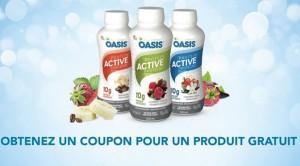 Échantillons gratuit Oasis Active