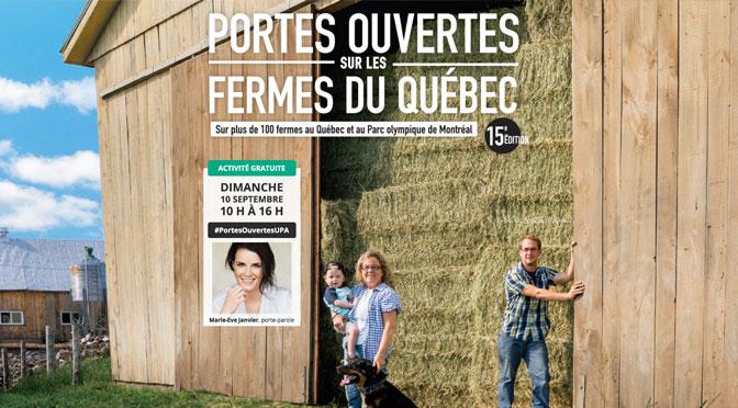 Porte ouverte ferme du quebec 15e edition