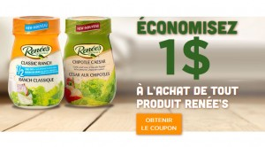 Coupon vinaigrette rene
