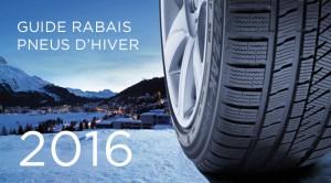 Guide rabais et remise pneu hiver 2016