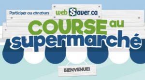 Concours Websaver La course au supermarche