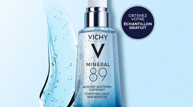Échantillons gratuit québec Vichy Minéral 89