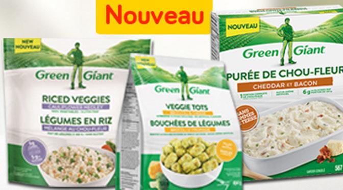 Légumes surgelé Géant Vert en rabais