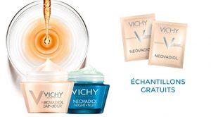 Échantillons gratuits Neovadiol de Vichy