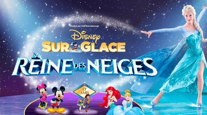 Concours Disney sur Glace Reine des neiges