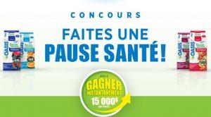 Concours Pause Santé Oasis