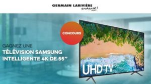 Concours Germain Lariviere TV SAMSUNG